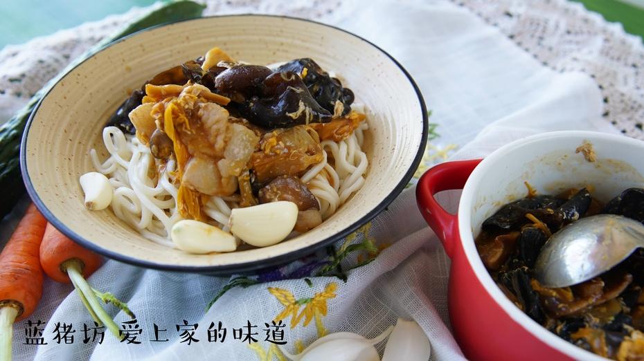 如何做出正宗老味道的老北京打卤面,教你四步轻松掌握小方法 - 蓝冰滢 - 蓝猪坊 创意美食工作室