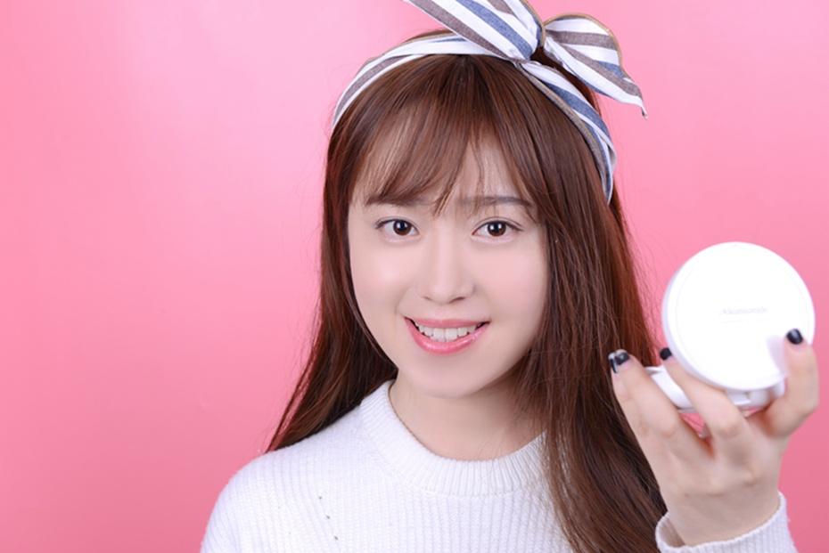 【袁一朵Amy】:梦妆气垫BB打造韩式透亮裸妆的首选 - 抹茶萌果 - 抹茶萌果