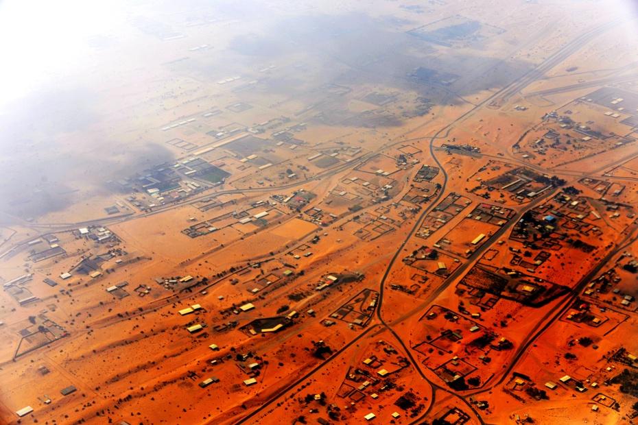 航拍:万米高空俯瞰迪拜大地 - 海军航空兵 - 海军航空兵
