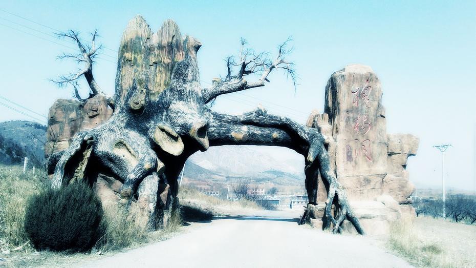 骑行:槐树洞 - 淡淡云 - 淡淡云