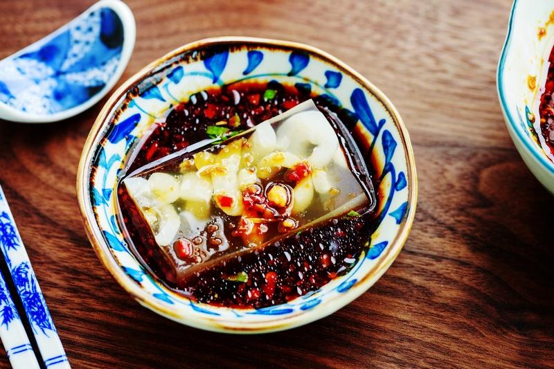 八道过年特色凉拌菜的做法,做法简单又爽口-狼之舞 - 荷塘秀色 - 茶之韵