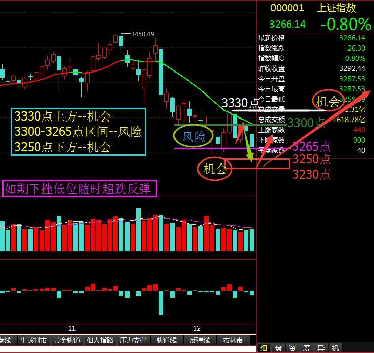 如期下挫低位随时超跌反弹 - 股市点金 - 股市点金