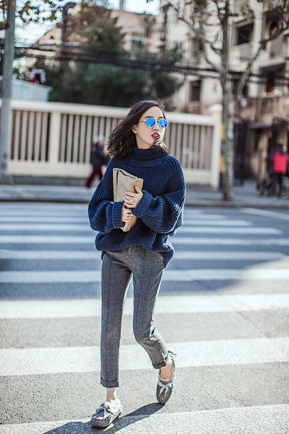 【妮儿の私服日记】小短腿变身高挑美人,怎么穿出休闲范儿 - Nikki妮儿 - Nikkis Fashion Blog