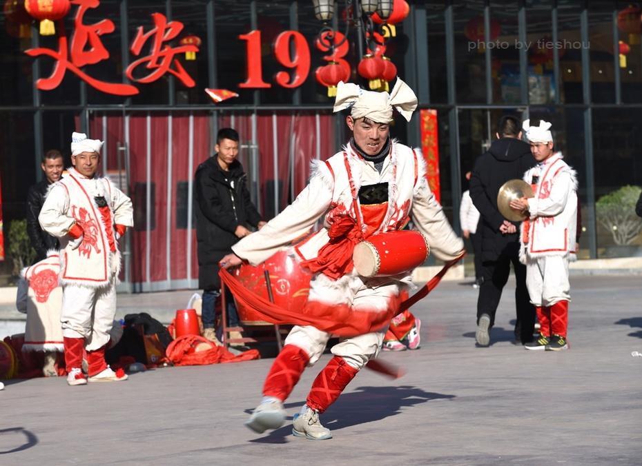 陝北風情(4)—— 看安塞腰鼓_圖1-41