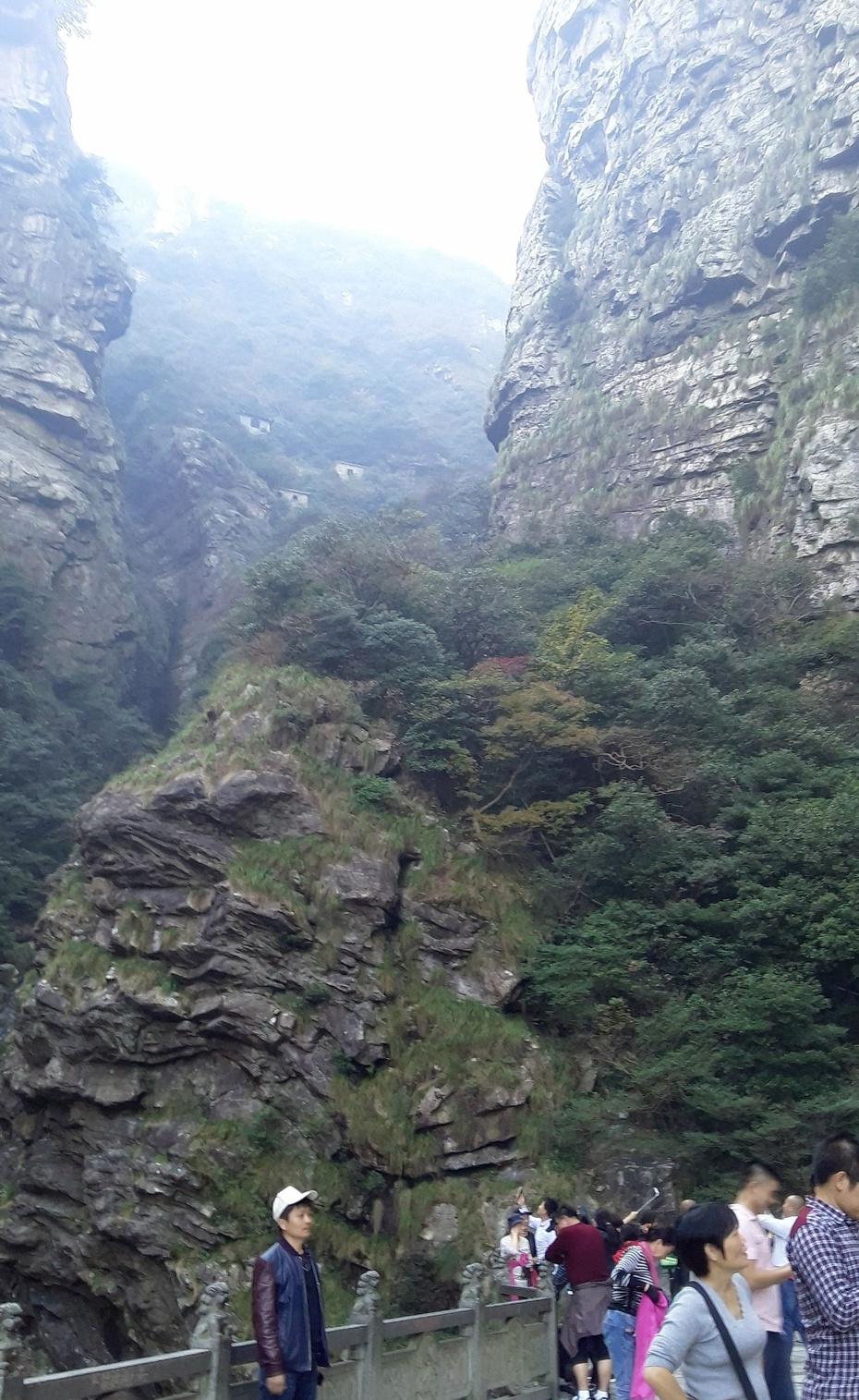 游庐山之:三叠泉 观瀑布 - 淡淡云 - 淡淡云