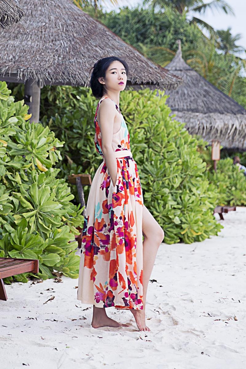 [Ava搭配日记]度假必备单品-露背连衣裙 - AvaFoo - Avas Fashion Blog