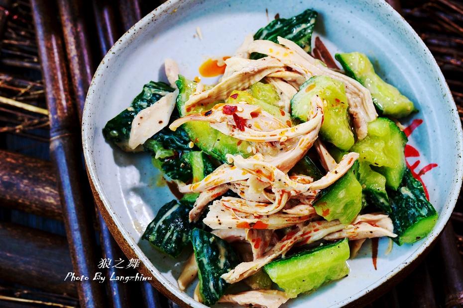 拍黄瓜夏天新吃法,健康美味两不误-狼之舞 - 荷塘秀色 - 茶之韵