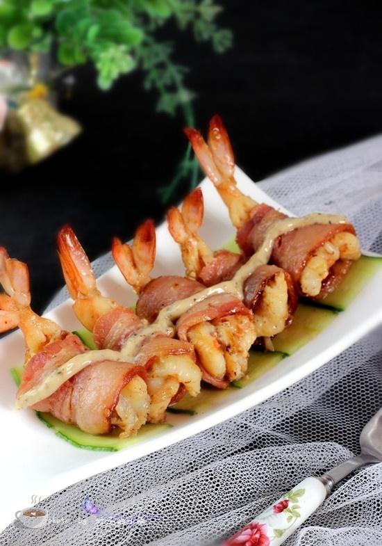 培根鲜虾卷 - 叶子的小厨 - 叶子的小厨