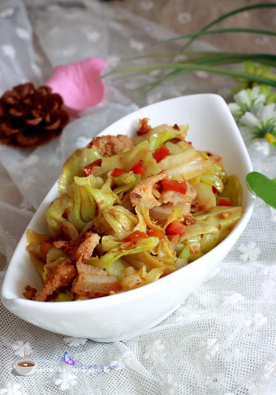 手撕包菜 - 叶子的小厨 - 叶子的小厨