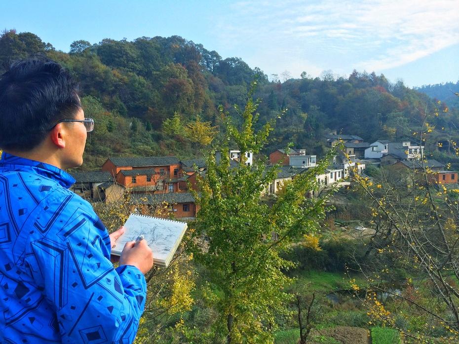 新县香山风景名胜区
