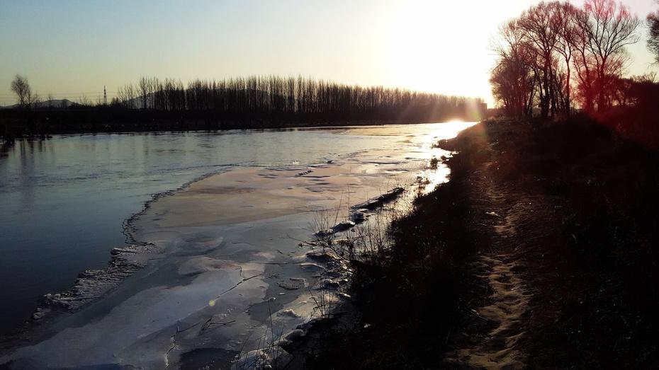 冬日河边行 - 淡淡云 - 淡淡云