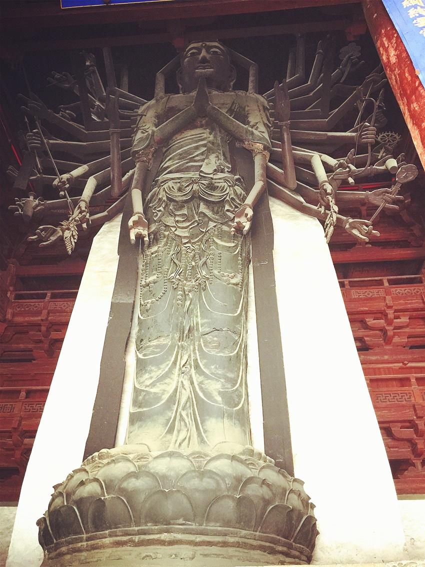 正定看塔难镇定 - yushunshun - 鱼顺顺的博客