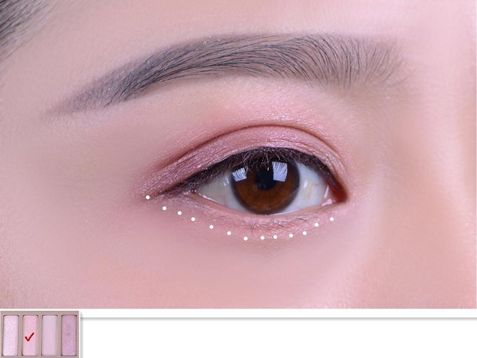 【袁一朵Amy】教你打造一款不浮肿的粉色眼妆( 选择色彩特重要) - 抹茶萌果 - 抹茶萌果