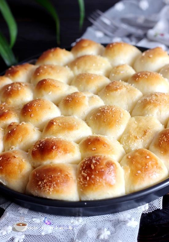 献给烘焙新手的金钱椰蓉小面包做法 - 叶子的小厨 - 叶子的小厨
