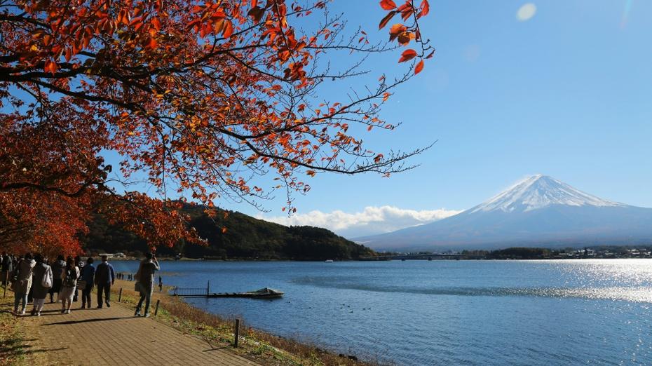东京行记:富士山一夜白头 - 海军航空兵 - 海军航空兵