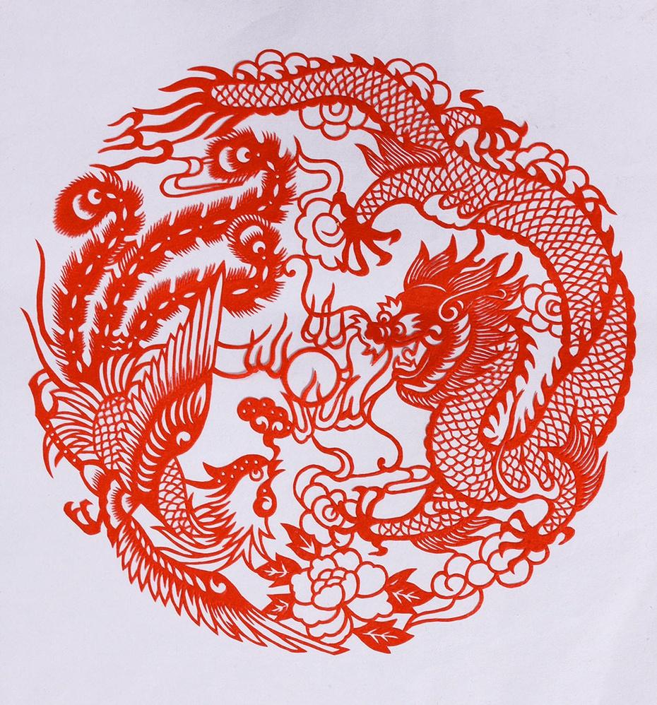 龙凤文化是华夏民族的真正象征 - 木雕禅师 - 木雕禅师