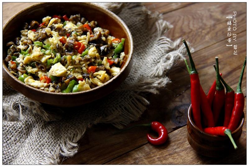 【鳝鱼炒鸡蛋】中秋家宴上的湘味小炒菜 - 慢美食 - 慢 美 食
