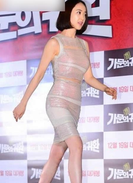 韩国女明星紧身裤