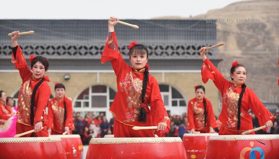 陕北风情(20)—— 印斗大秧歌_图1-80