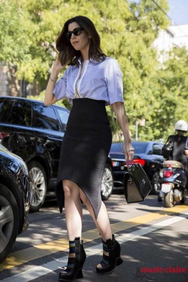 懒人搭配日记:一分钟出门的搭配秘籍 - 嘉人marieclaire - 嘉人中文网 官方博客