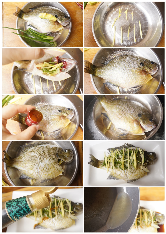 好吃清蒸鱼烹饪有秘诀—清蒸太阳鱼 - 慢美食博客 - 慢美食博客 美食厨房