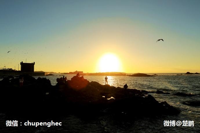 有着摩洛哥第一的日落,美女惊艳,这座小城美如画 - 楚鹏 - 楚鹏:生命只有一次