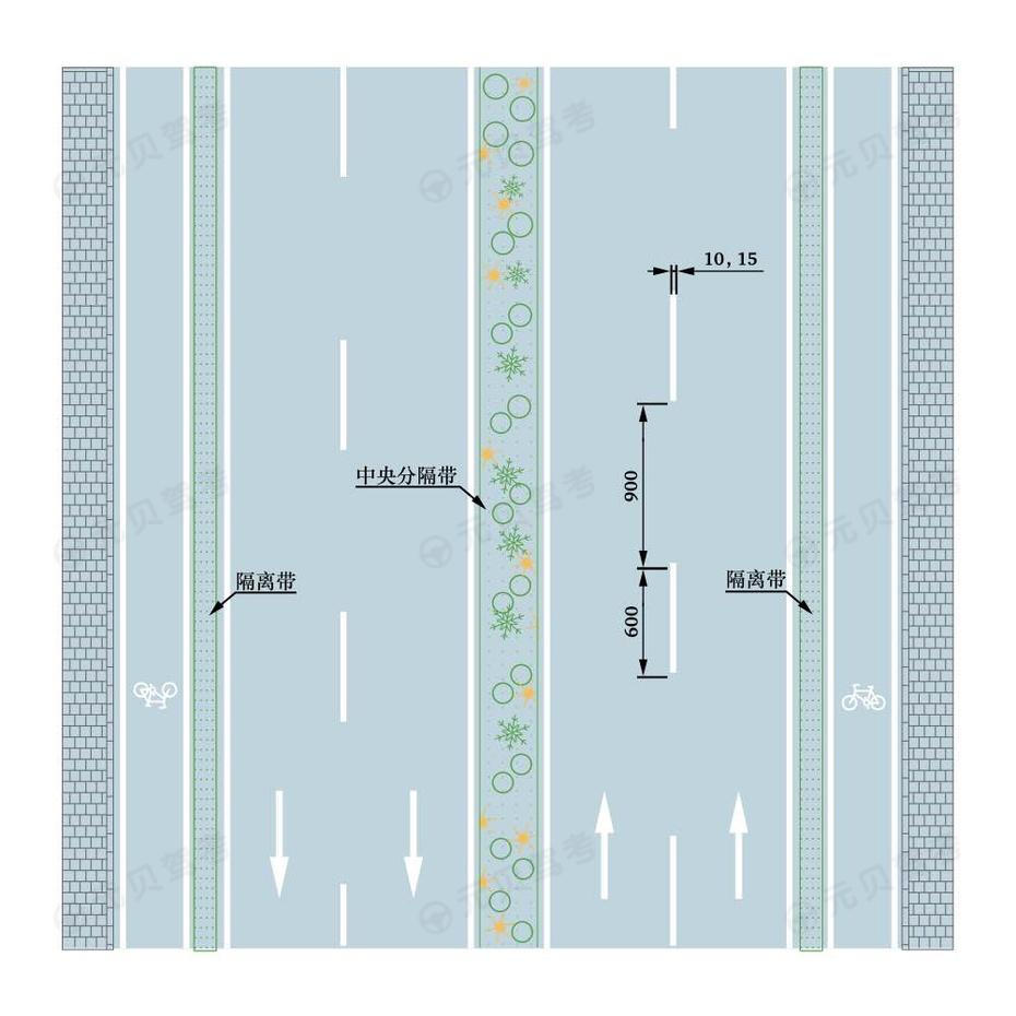 车行道分界线