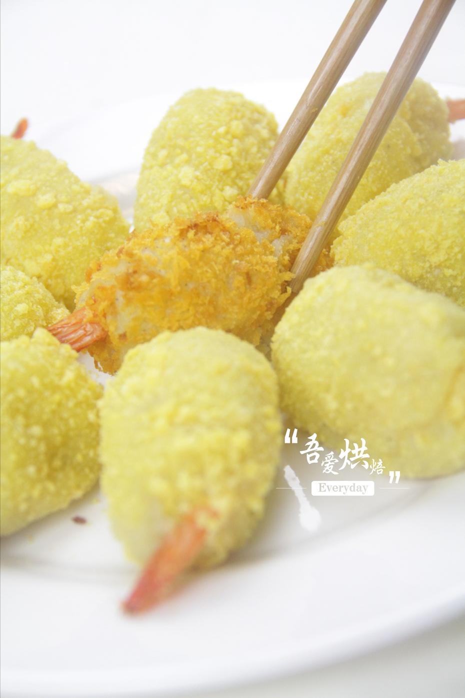 海鲜风味:土豆虾球 - 慢美食博客 - 慢美食博客 美食厨房