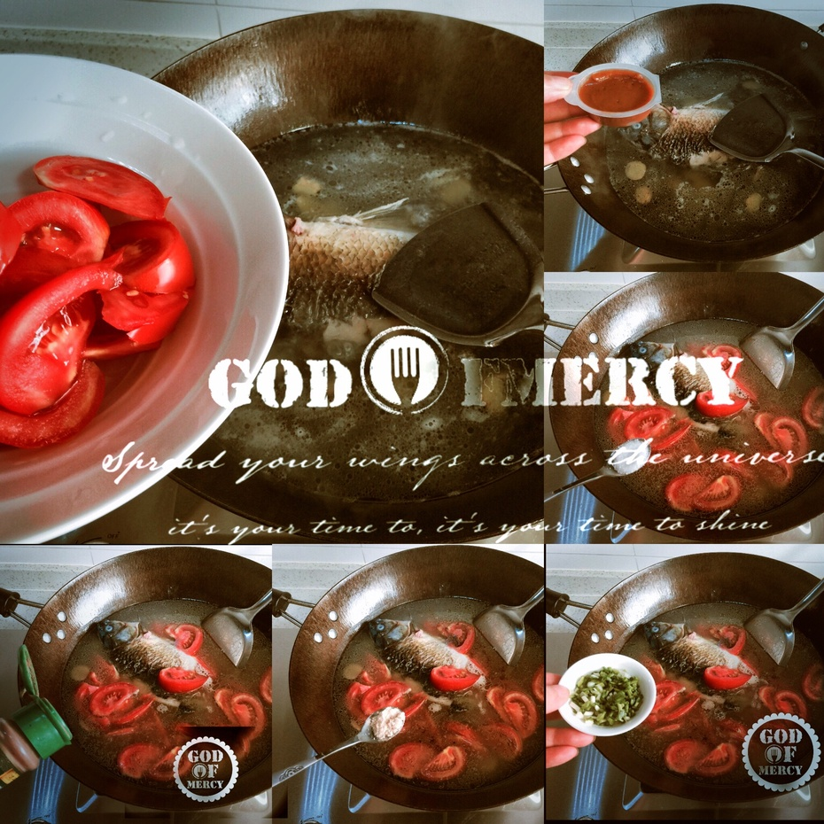 挑战味蕾极限:养颜番茄鲫鱼汤的任性吃法 - 慢美食博客 - 慢美食博客 美食厨房