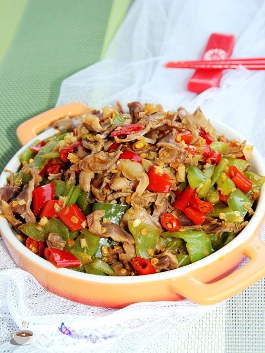 【美食春晚】泡椒炒鸡胗 - 叶子 - 叶子的小厨