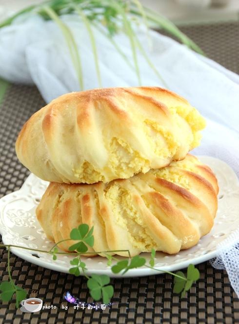 【美食春晚】花式椰蓉面包 - 叶子 - 叶子的小厨