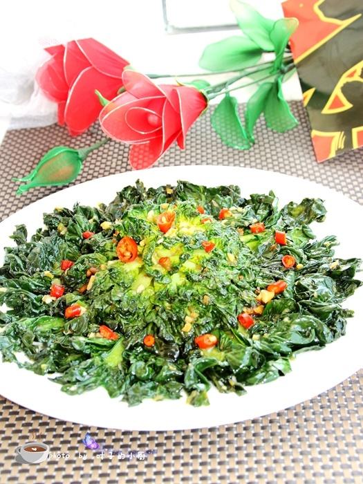 【美食春晚】清炒菊花菜 - 叶子 - 叶子的小厨