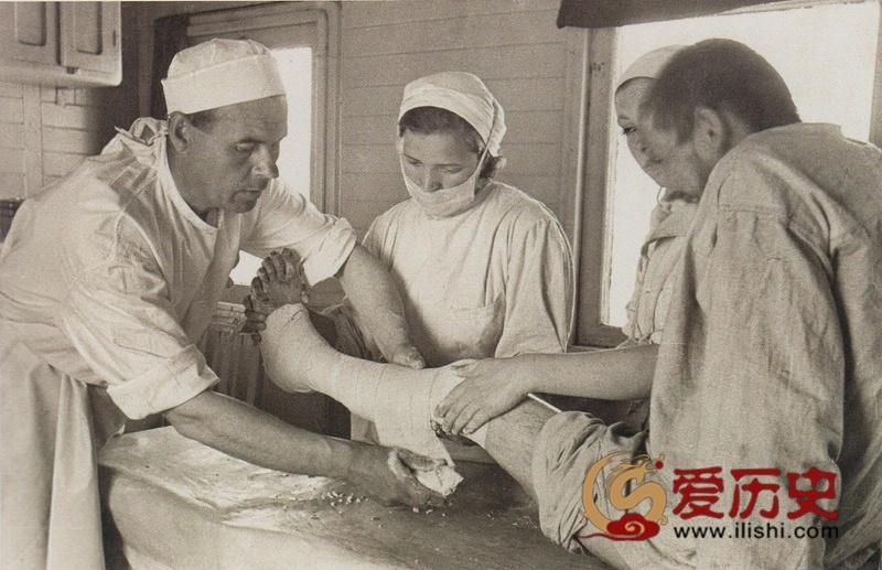二战中的苏军战地列车医院 - 爱历史 - 爱历史---老照片的故事