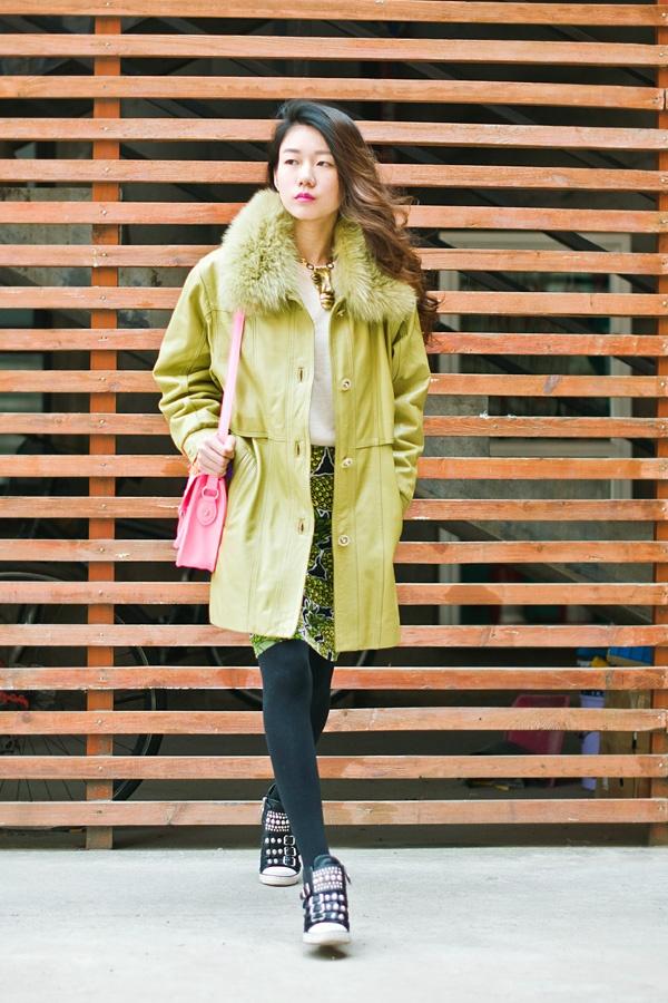 【Ava搭配日记】果绿色年华 - AvaFoo - Avas Fashion Blog