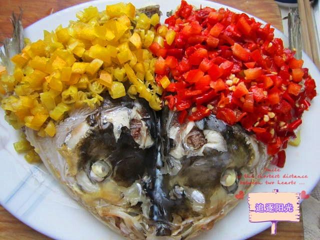 【美食春晚】+双椒鱼头 - 慢生活美食客 - 慢生活美食客