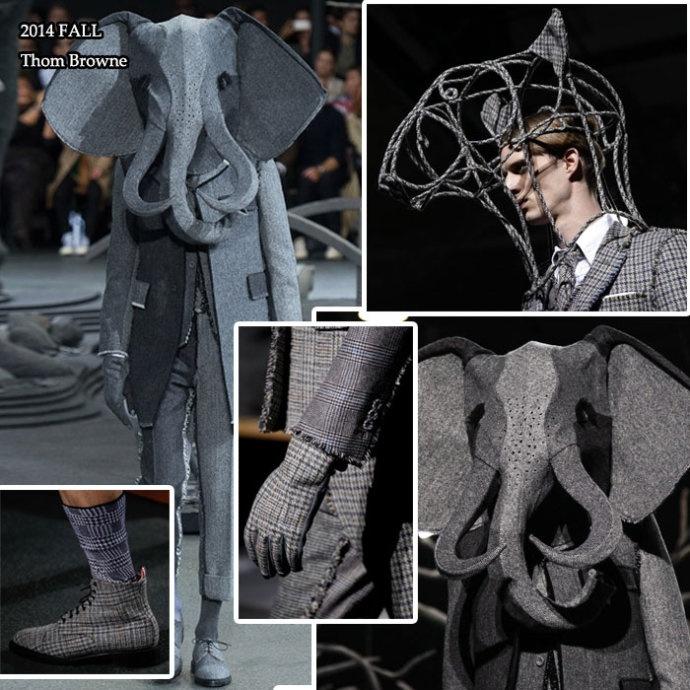 2014秋冬男装周秀场盘点-奇葩集中营之暗黑无厘头系列 - toni雌和尚 - toni 雌和尚的时尚经