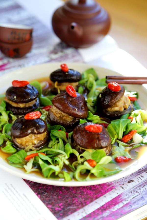 漂亮的香菇酿 - 慢美食 - 慢 美 食