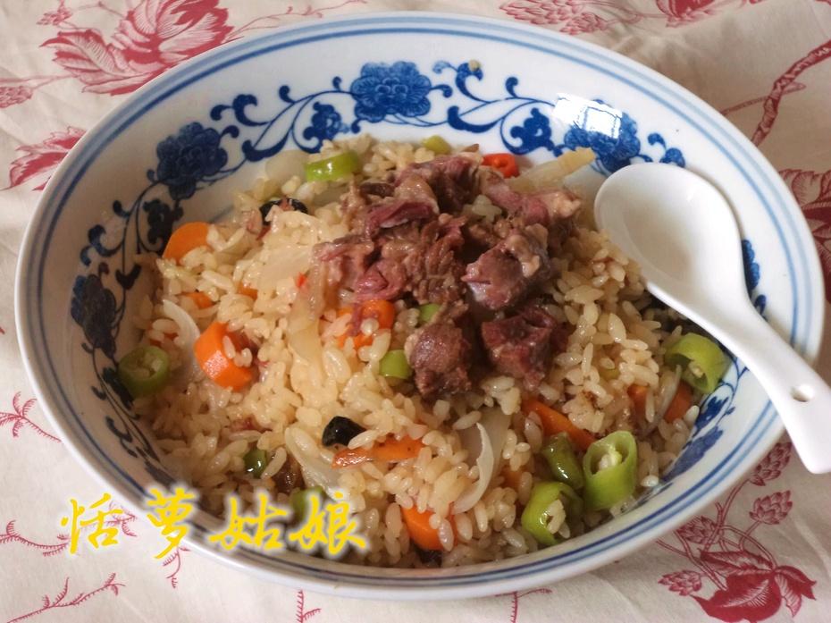 中原食材做出异域风情【牛肉抓饭】 - 慢美食 - 慢 美 食