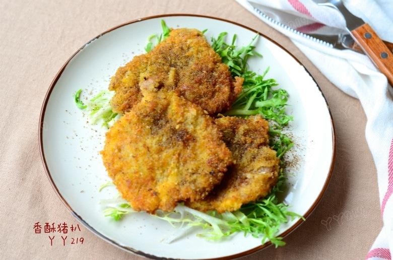 简单易做的过瘾肉菜——【香酥猪扒】 - 慢美食 - 慢 美 食