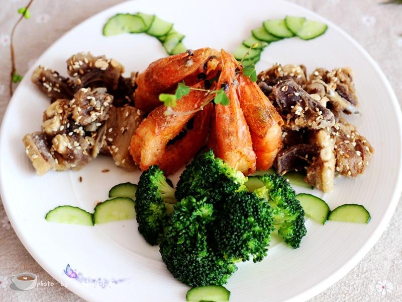 羊年羊菜---三羊开泰 - 叶子的小厨 - 叶子的小厨