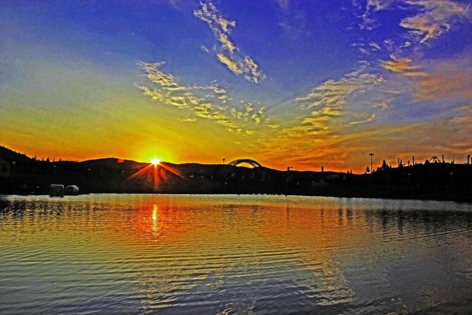 鄂伦春风光秀丽,阿里河晚霞峥嵘--暑期东北行之十八 - 侠义客 - 伊大成 的博客