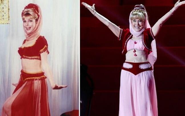 的 天仙童姥 明星十年前后容貌对比