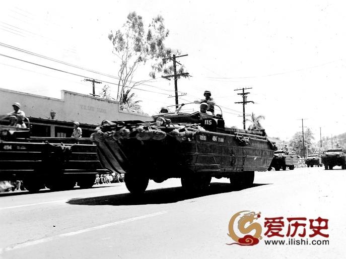 夏威夷二战胜利游行  华人扬眉盛装出席 - 爱历史 - 爱历史---老照片的故事