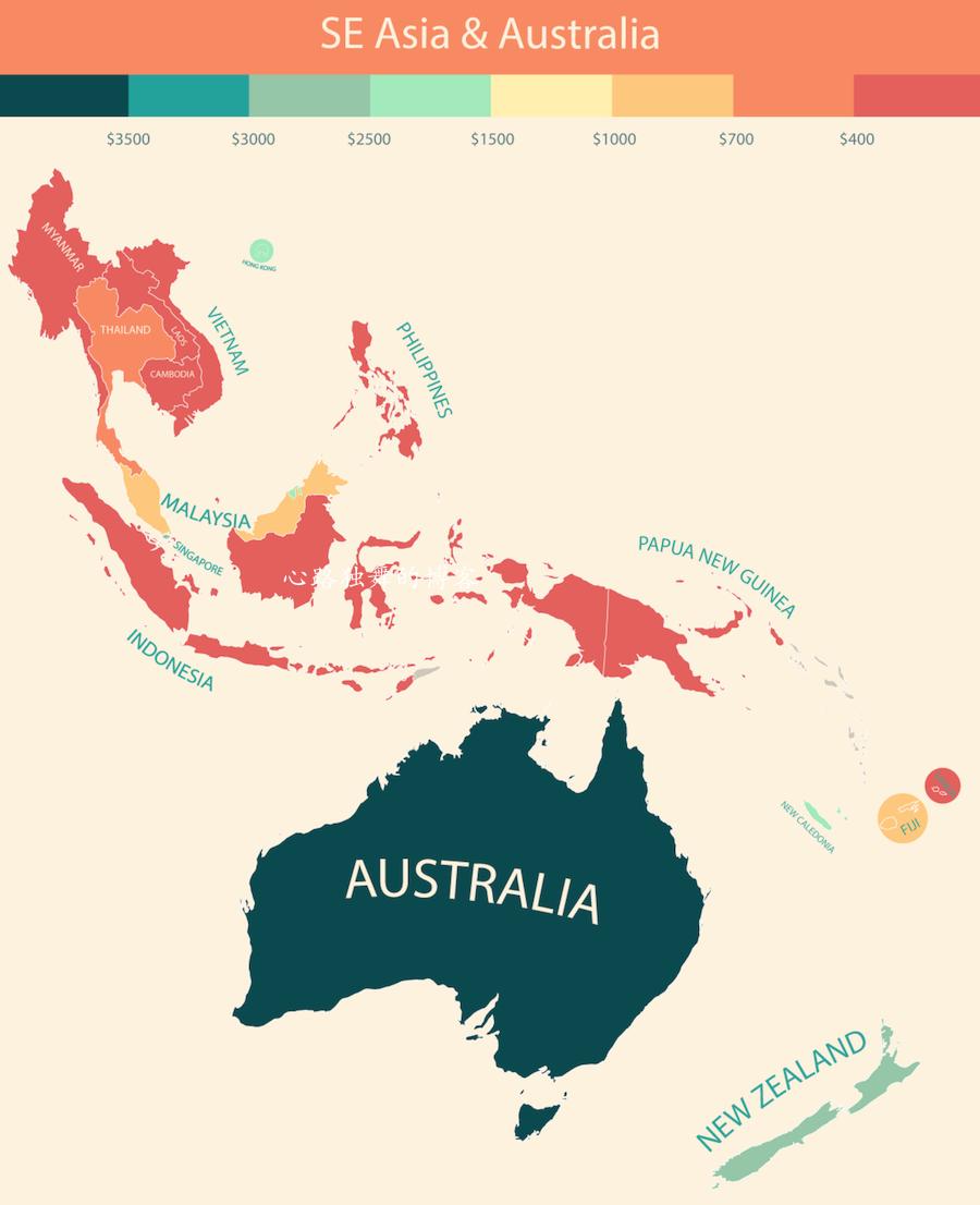 图解中国个人可支配收入在世界的水平(组图) - 心路独舞 - 心路独舞