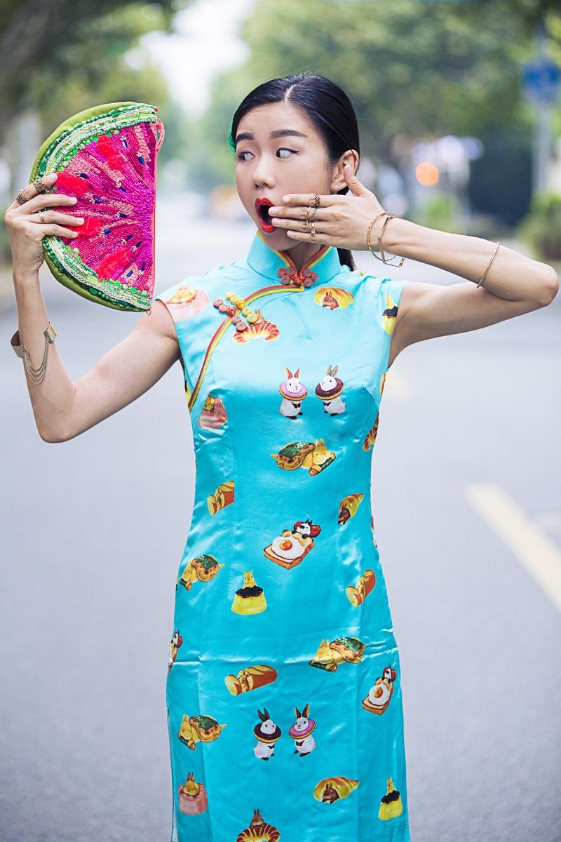 [Ava搭配日记]吃货的旗袍趣味 - AvaFoo - Avas Fashion Blog