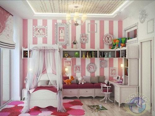 如何选择硅藻泥背景墙儿童房里的颜色