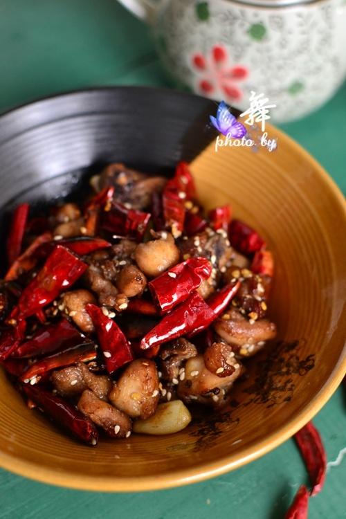 【家常版辣子鸡】一步步带你解密家庭如何轻松做出有味的辣子鸡 - 慢美食 - 慢 美 食