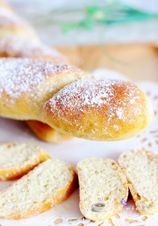 全麦长棍面包 - 叶子的小厨 - 叶子的小厨