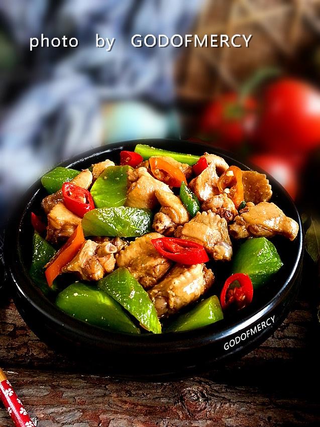 美丽传奇的美人菜=撞击味蕾极限鸡翅烧莴苣 - 慢美食博客 - 慢美食博客