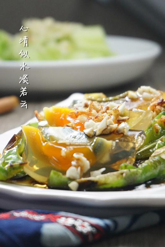 大排档里的人气菜【烧椒皮蛋】 - 慢美食博客 - 慢美食博客 美食厨房